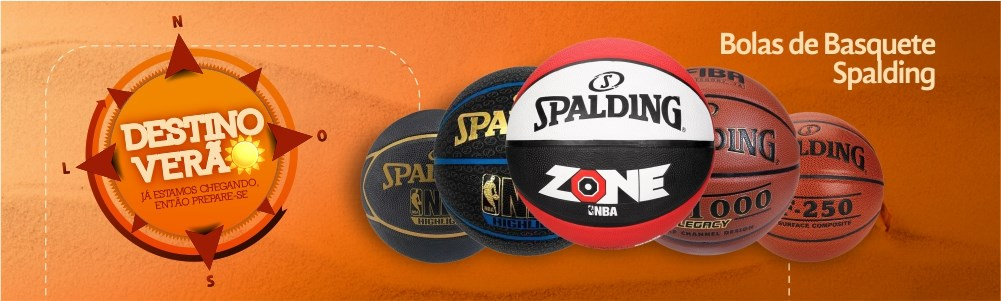 Bolas Spalding Esporte Legal