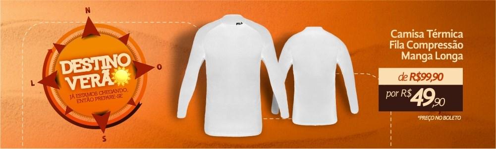 Camisa de Compressão Esporte Legal