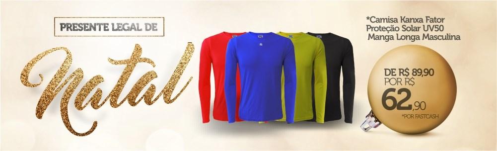 Camisa Kanxa Proteção UV Esporte Legal