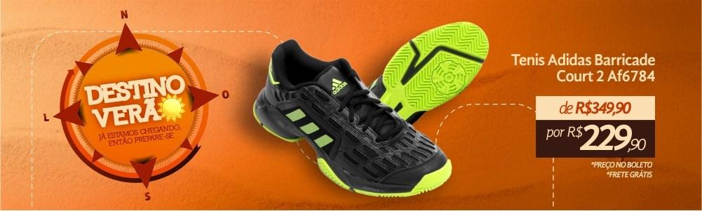 Tênis Adidas Barricade Esporte Legal