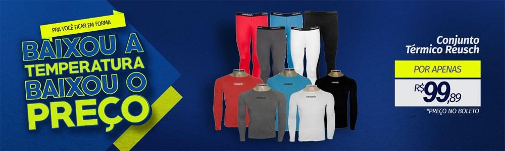 Esporte Legal Calça e Camisa Térmica Reusch