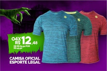 Camisa Esporte Legal Proteção UV