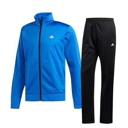 584bec0d7 Agasalho Adidas EP Masculino - Azul Royal e Preto - Esporte Legal