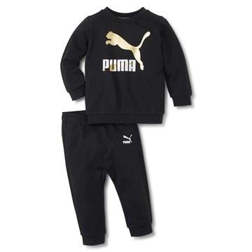 Agasalho Puma Minicats Classics Crew Jogger Infantil