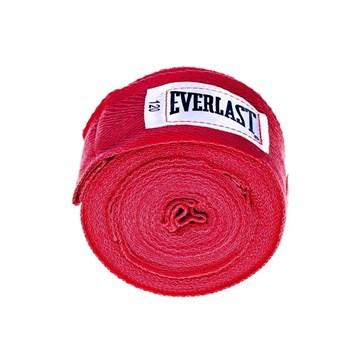 Bandagem Everlast 3 Metros - Vermelho