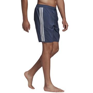 Bermuda Adidas Classic 3 Stripes Masculina - Marinho