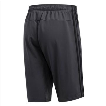Bermuda Adidas Essentials 3 Stripes Masculina - Chumbo