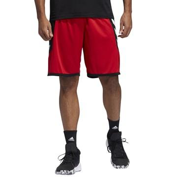 Bermuda Adidas Pro Madness Masculina - Vermelho e Preto