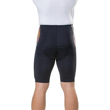 Bermuda Ciclismo Elite 129012 Plus Size Masculina - Preto