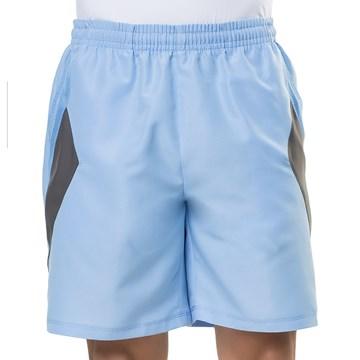 Bermuda Elite 34423 Plus Size Masculina - Azul e Grafite