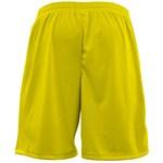 Bermuda Elite Comfort Masculina - Amarelo