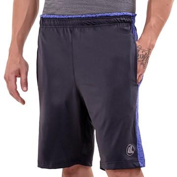 Bermuda Esporte Legal Training Masculina - Cinza e Azul