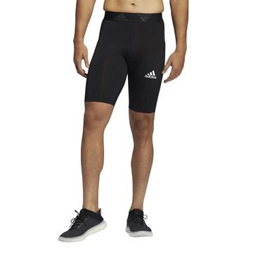 Bermuda Térmica Adidas Techfit Masculina - Preto
