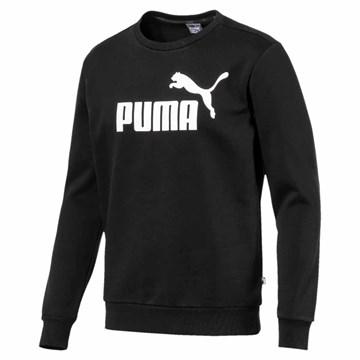 Blusa de Moletom Puma Logo Crew Sweat Fl Big Logo Masculino