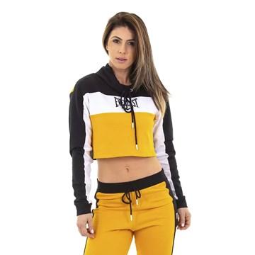 Blusa Everlast Vintage Feminina - Preto e Amarelo