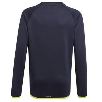 Blusa Moletom Adidas Designed To Move Big Logo Infantil - Marinho