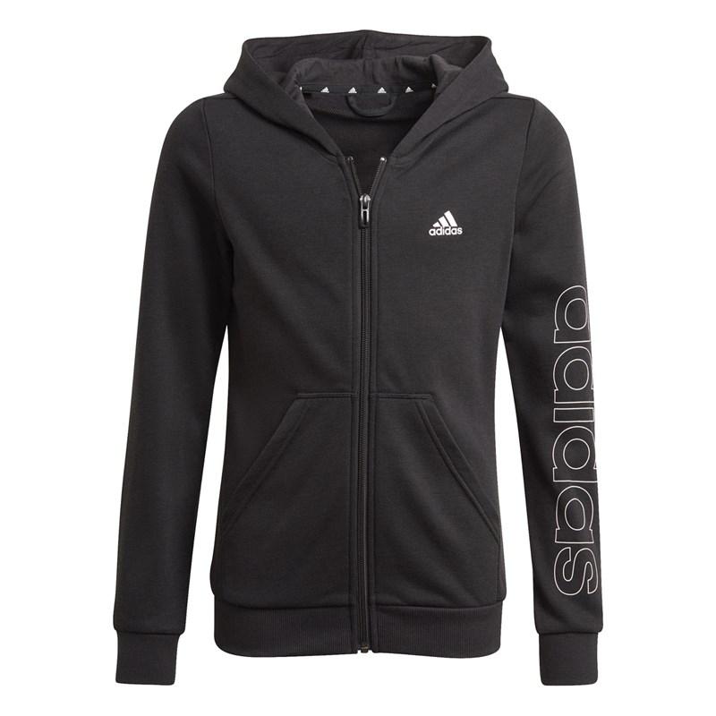 Blusa Moletom Adidas Essentials Infantil - Preto