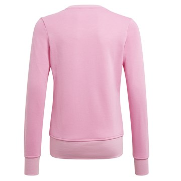 Blusa Moletom Adidas Essentials Infantil - Rosa