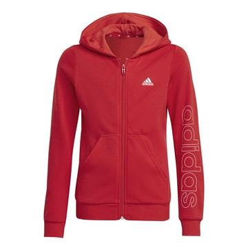 Blusa Moletom Adidas Essentials Infantil - Vermelho
