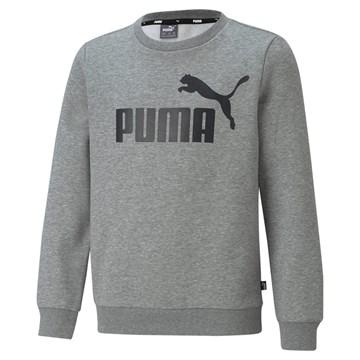 Blusa Moletom Puma Essentials Crew Neck Big Logo Juvenil