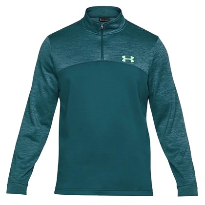 5130a5923c1 Blusa Under Armour Fleece 1 4 Zip Masculina - Verde - Esporte Legal