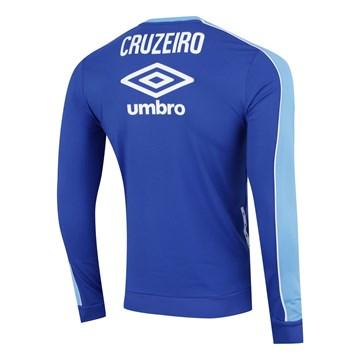 Blusão Umbro Cruzeiro Treino 2019 Masculino - Azul