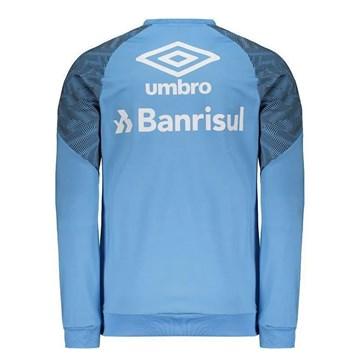 Blusão Umbro Grêmio Treino 2018 Masculina - Azul Celeste