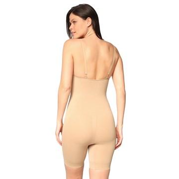 Body Selene Redutor Shorts Sem Costura Feminino
