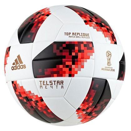 242d291a7f Bola Adidas Fifa World Cup Knockout Top Replique - Branco e Laranja ...