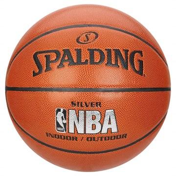 Bola Basquete Spalding Oficial Silver