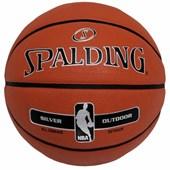 Bola Basquete Spalding Silver NBA Outdoor