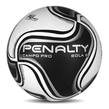 Bola Campo Penalty 8 Pro XXI - Branco e Preto