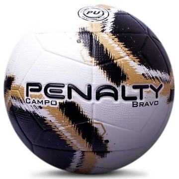Bola Campo Penalty Bravo XXI - Branco e Preto