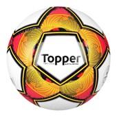 2a0334573e63c Bola Topper Society Artilheiro - Branco e Roxo - Esporte Legal