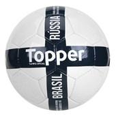 Bola de Futebol Campo Topper Seleções Brasil Rússia