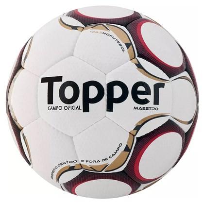 4639014a84e32 Bola de Futebol Topper Campo Maestro TD1 - Branco e Vermelho ...