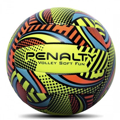Bola de Vôlley de Praia Penalty Soft Fun VIII - Amarelo - Esporte Legal ca85a30520073