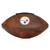 Bola Futebol Americano Wilson NFL Throwback Pittsburgh Steelers Júnior