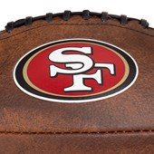 Bola Futebol Americano Wilson NFL Throwback San Francisco 49ers Júnior