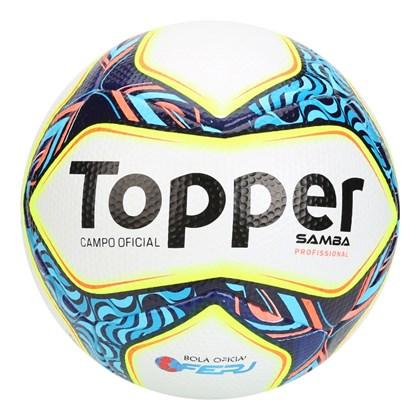 3aea118c91 Bola Futebol Campo Topper Samba Pro Oficial - EsporteLegal