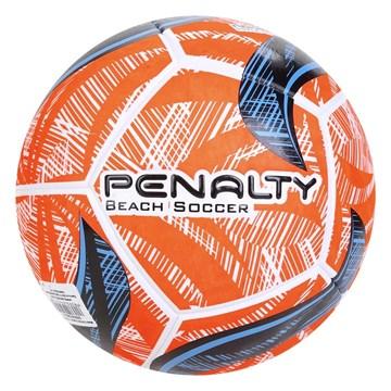 Bola Futebol de Areia Penalty Fusion 2 IX - Branco, Laranja e Azul