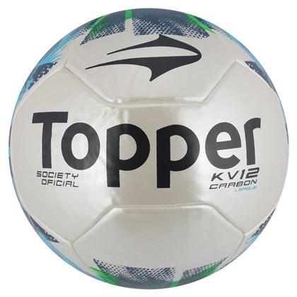 Bola Futebol Topper Society KV League II - Branco e Verde - Esporte ... a7d513fb03fa6