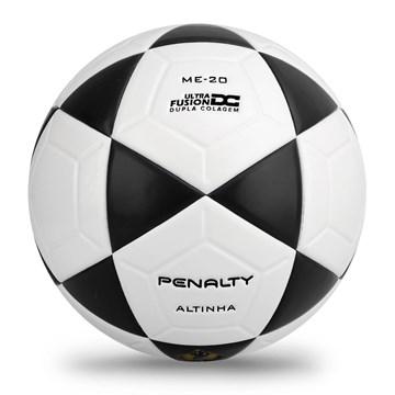 Bola Futevôlei Penalty Altinha XXI - Branco e Preto