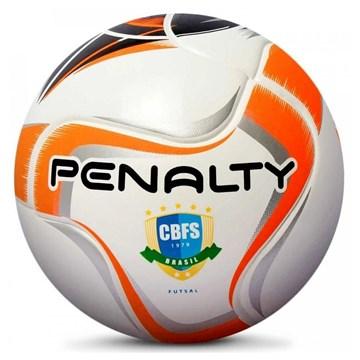 Bola Futsal Penalty Max 200 Term X Sub 13 - Branco, Preto e Laranja