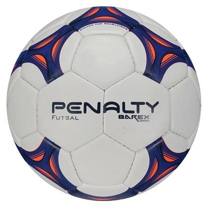 Bola Penalty Futsal Barex 500 VIII - Branco e Azul - Esporte Legal 88eca6f5b61ff