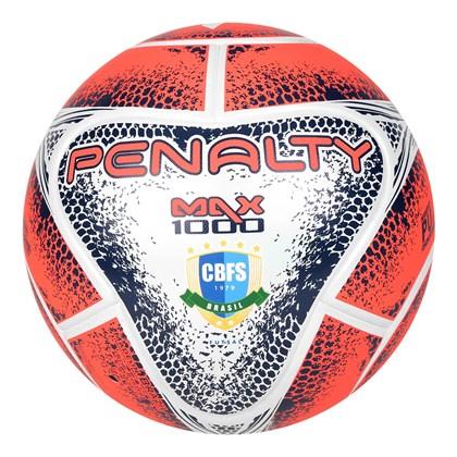 ee57c8cabfb13 Bola Penalty Futsal Max 1000 VIII - Branco