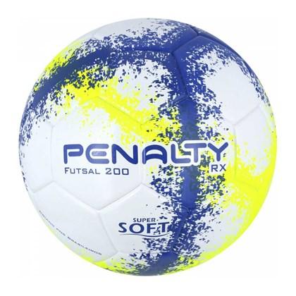 Bola Penalty Futsal RX 200 R3 Fusion 8 Azul e Amarelo Sub-13 b3f3cb635c28d