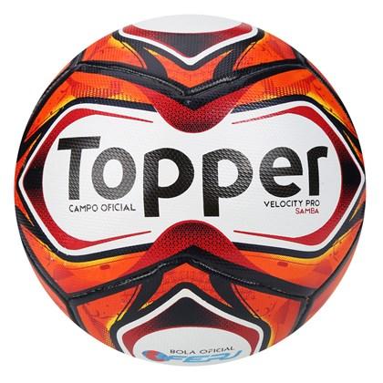 bdacb28ca9 Bola Topper Futebol Campo Samba Velocity Pro - EsporteLegal
