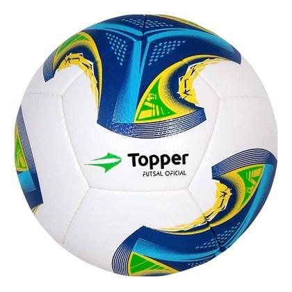 Bola Topper Futsal V12 - Branco 12a572485c0d1