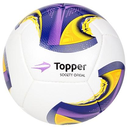 Bola Topper Society V12 - Branco 4cd645704553e